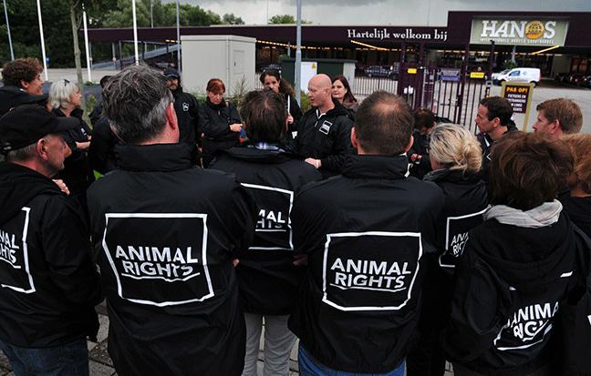 Animal Rights gaat 100% voor dierenrechten.