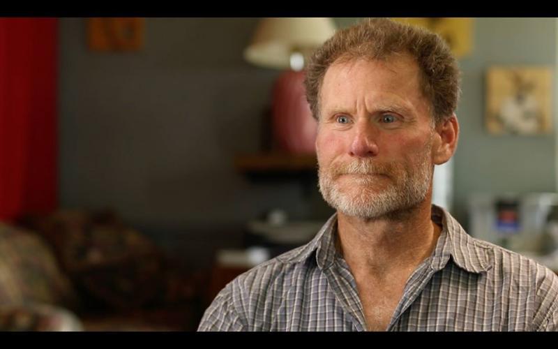 In de film: Ken, ooit fervent jager. Twee decennia geleden werd hij vegan.