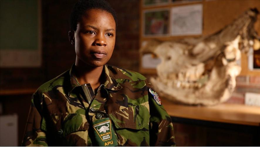 In de film: de Black Mamba Anti-Poaching Unit.