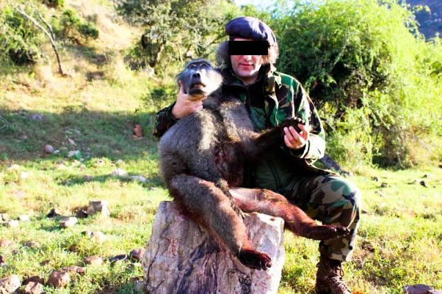 Belgische jager die in 2014 een jachtreis heeft geboekt via Umlilo Safaris.