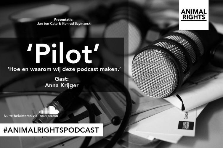 De eerste podcast van Animal Rights.
