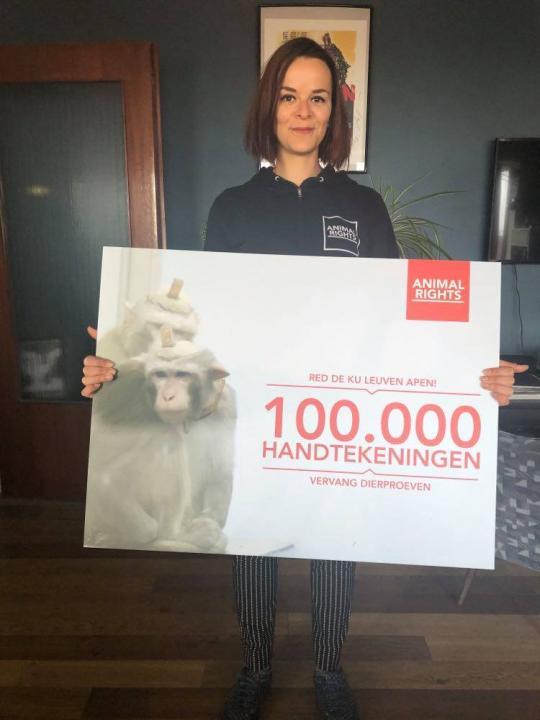 100.000 mensen hebben onze petitie getekend.